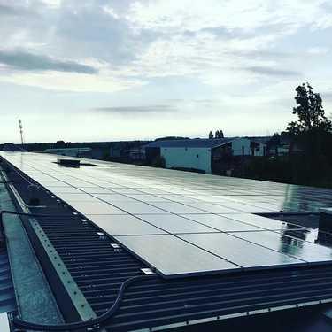 Nettoyage 700m2 panneaux solaires - robot télécommandé - Loire Atlantique