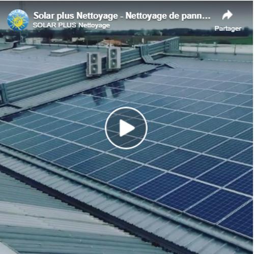 Vidéo :nettoyage de 9600m2 de panneaux photovoltaïques 0
