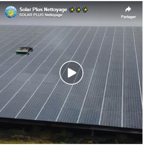 Vidéo : comment nettoyer 5 000 m² de panneaux photovoltaïques ? 0